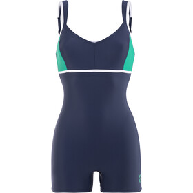 arena Venus Combi Bodysuit Dame navy-persian green-white